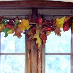 Learn how to make a quick and easy fall leaf garland that can be hung anywhere in the home where you want a little fall color. Great for the entire season.