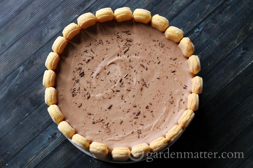 Fancy Chocolate Charlotte Cake Recipe