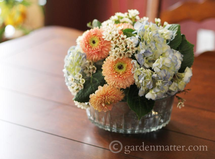 Learn about arranging flowers and making your own mercury glass vases from thrift store finds.