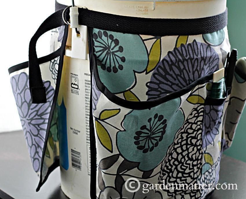Garden Bucket Tool Belt side ~gardenmatter.com