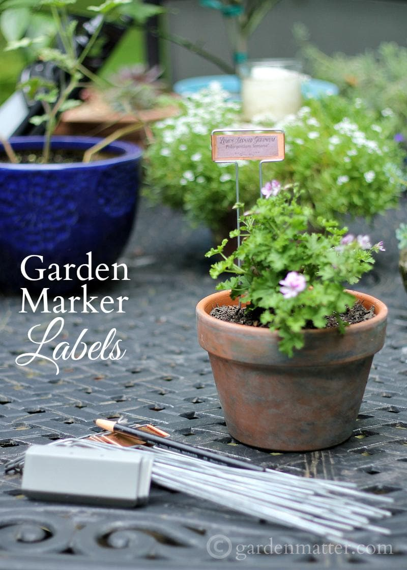 Garden Marker Labels Free Printable
