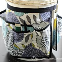 Learn how to make a great toolbelt for a garden bucket.