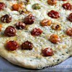 Herb Encrusted White Pizza ~gardenmatter.com