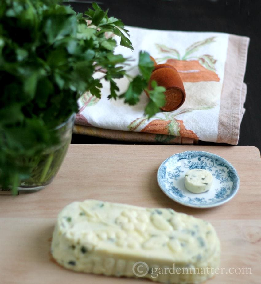 Using Butter Molds and Herbal Butter