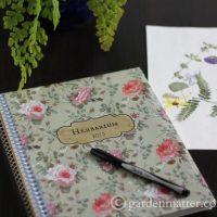 Herbarium Cover ~ gardenmatter.com