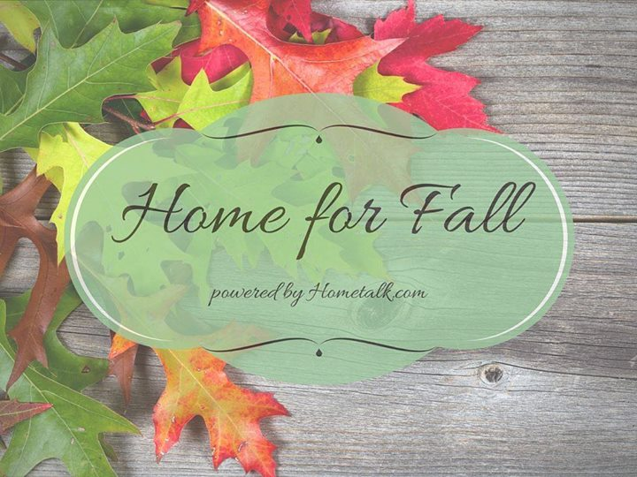 A fall themed blog hop powered by Hometalk