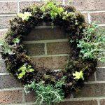 Living Herbal Wreath ~gardenmatter.com