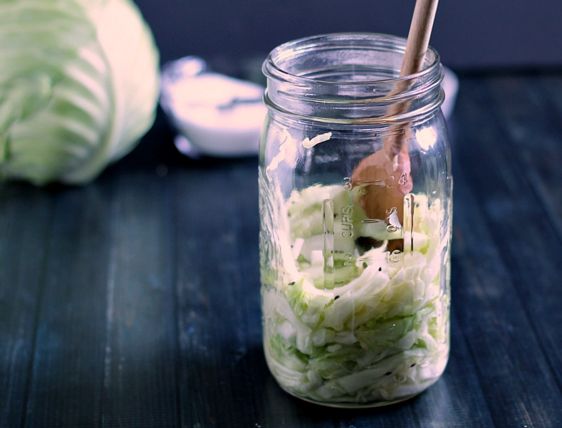 Learn how to make homemade sauerkraut ~ gardenmatter.com