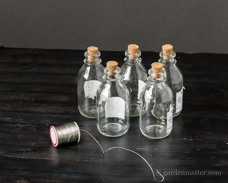 Materials ~ Bottle Garland ~ gardenmatter.com