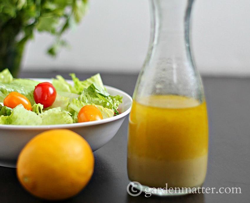 Meyer Lemon Vinaigrette ~gardenmatter.com