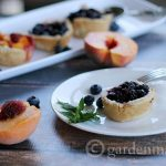 Easy Muffin Pie recipe made with pre-made pie crust and fresh fruit.