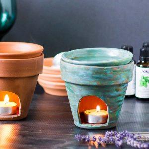 DIY Terra Cotta Diffuser square ~ DIY Essential Oil Diffuser ~ gardenmatter.com