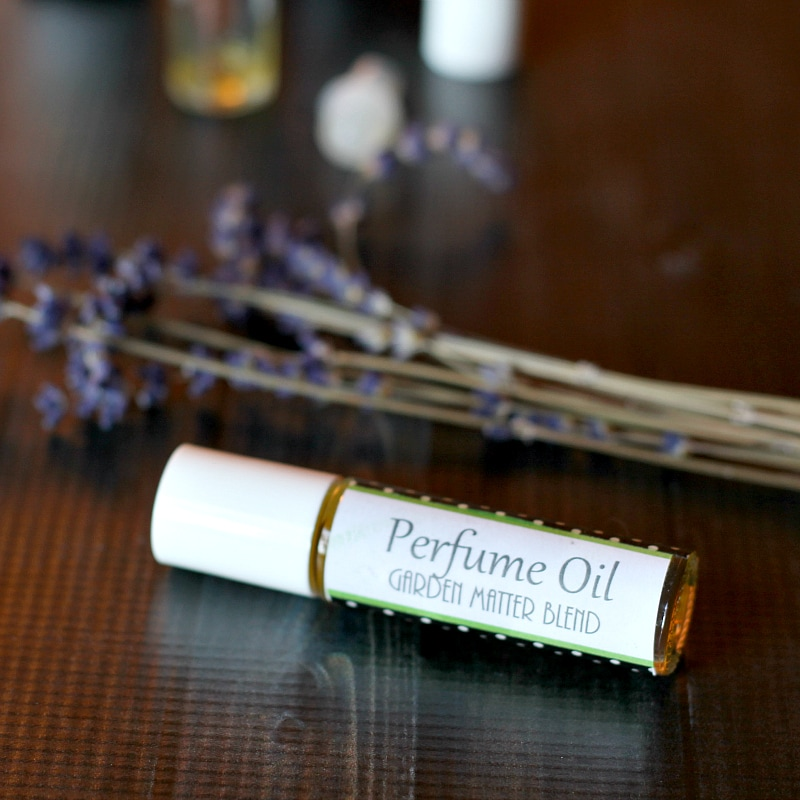 Perfume Oil - Labeled Bottle - gardenmatter.com