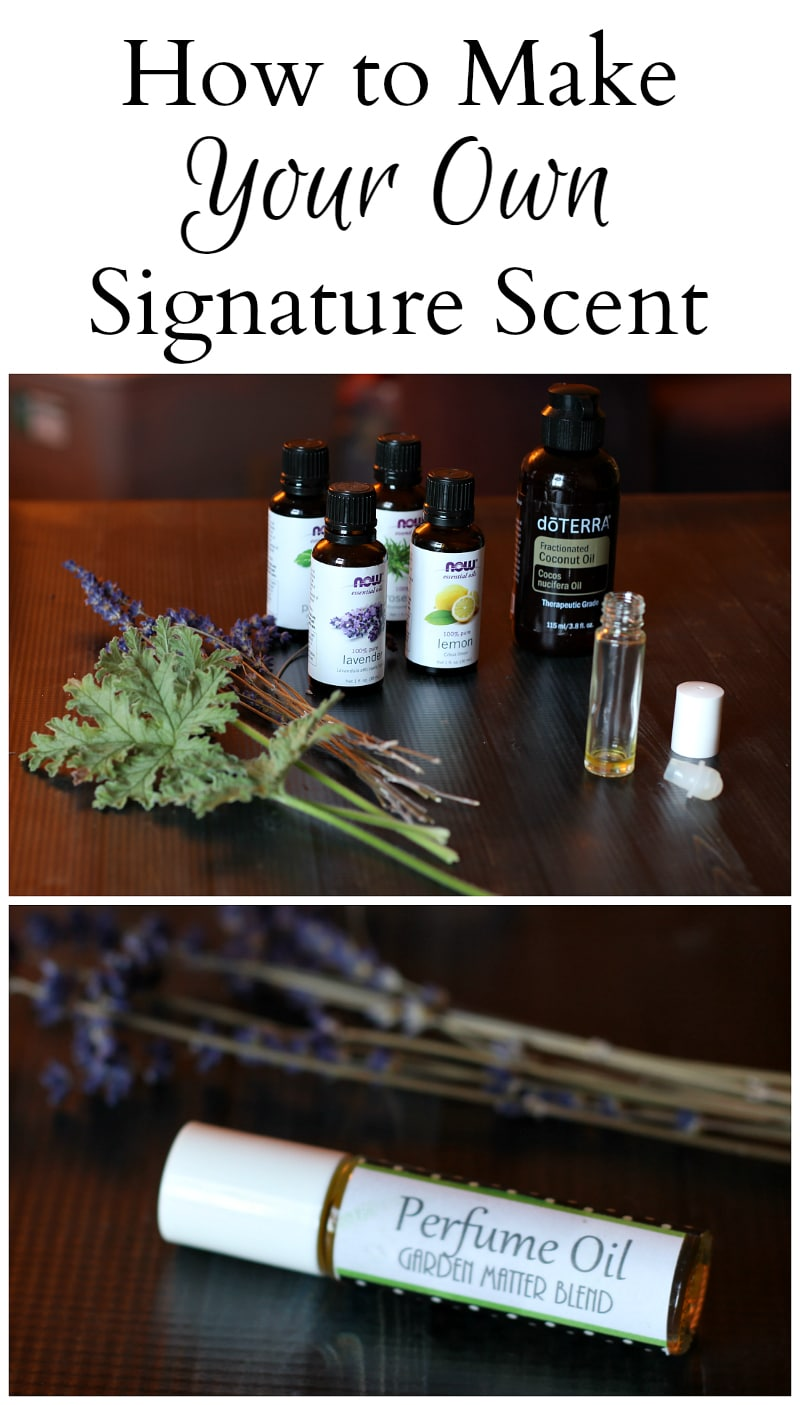 How to make your signature scent ~ gardenmatter.com
