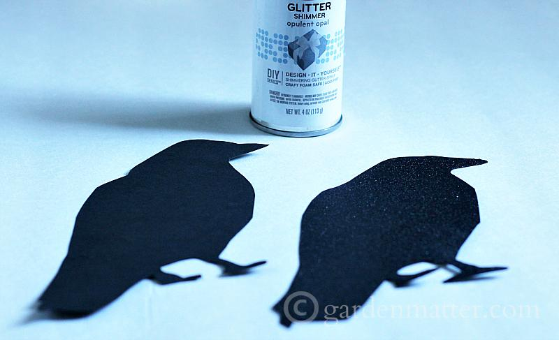 See how easy and fun this bird silhouette craft is to make. Add them all over for an eerie effect and then remove after Halloween.