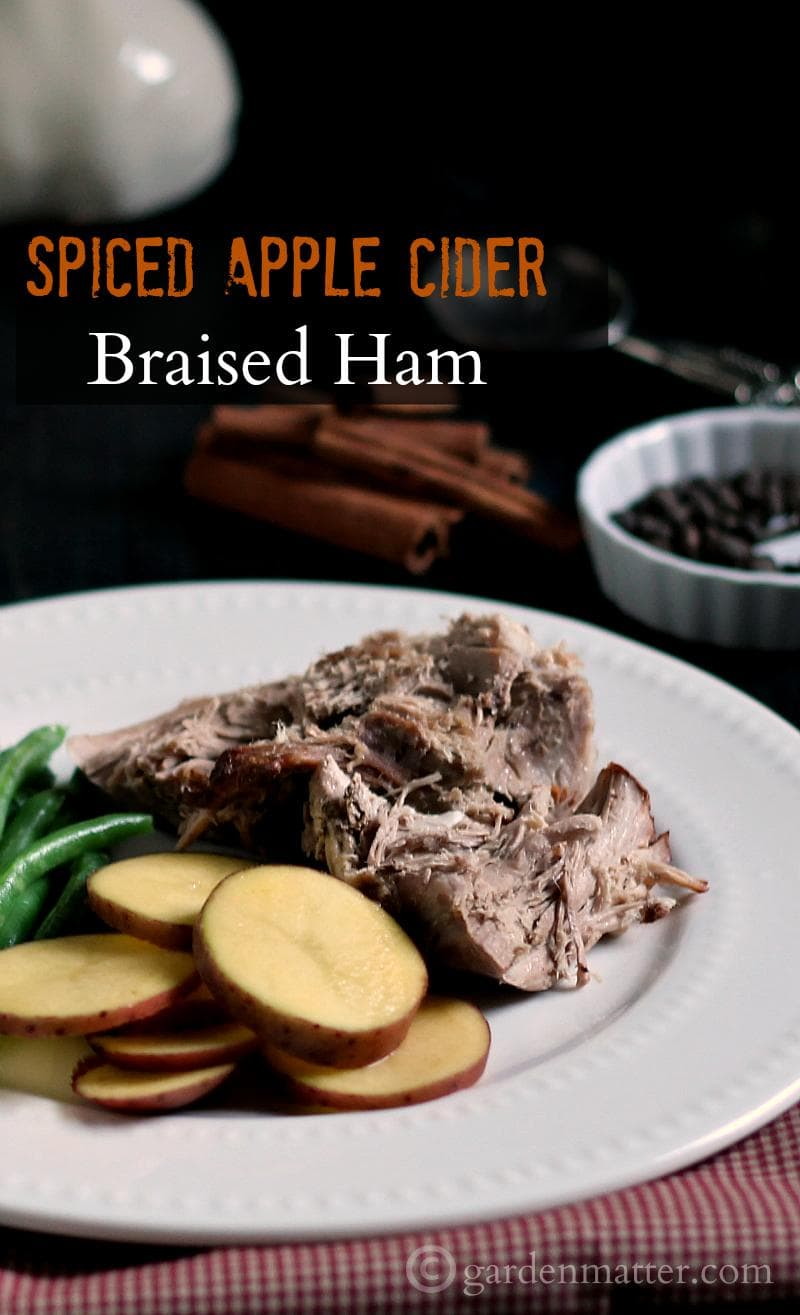 This recipe for Spiced Apple Cider Braised Ham is a fun and tasty way to bring in the flavors of fall.