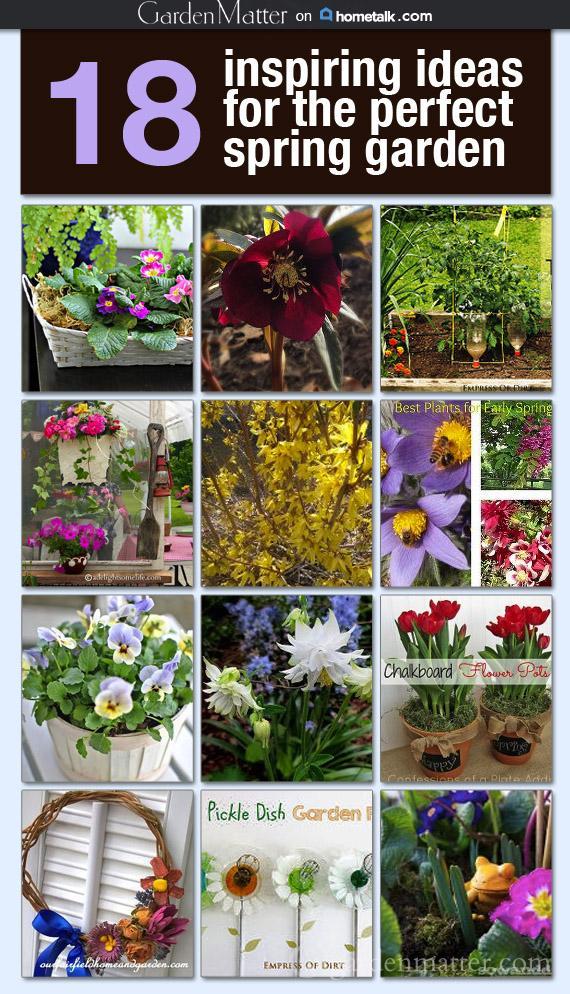 Spring Gardening Board ~gardenmatter.com