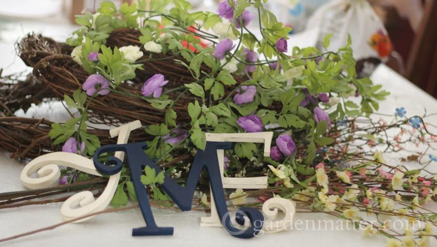 Spring Wreath Materials ~ gardenmatter.com