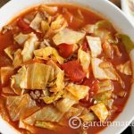 Stuffed Cabbage Soup ~ gardenmatter.com