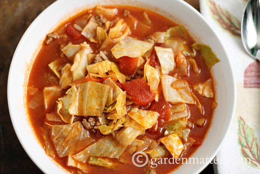 Comfort Food: Stuffed Cabbage Soup