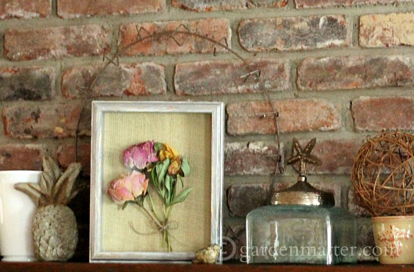 Learn how to easily and affordable it is to decorate a summer mantel.