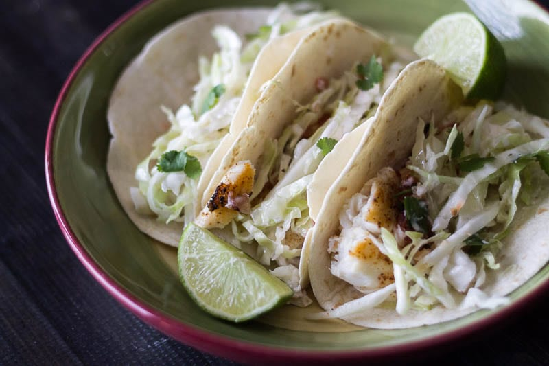 Simple Fish Tacos For a Healthy Diet