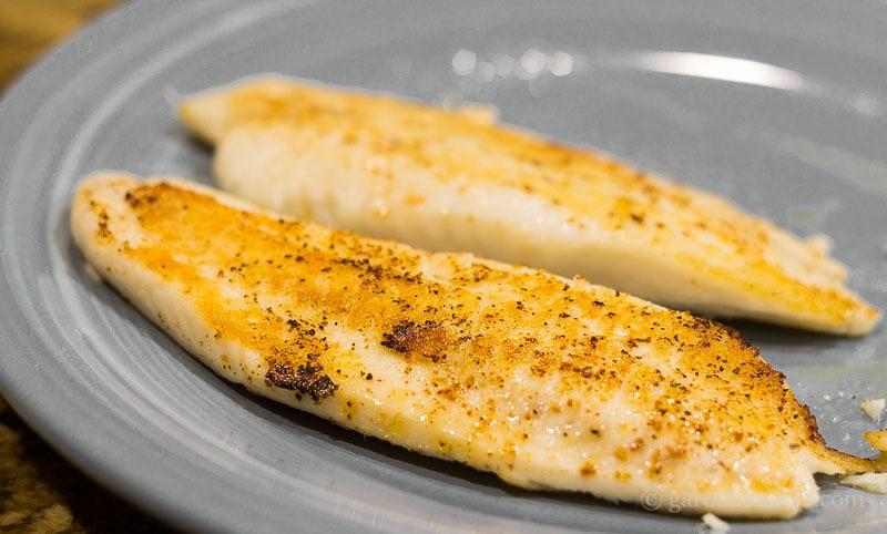 Talapia ~ fish tacos ~ gardenmatter.com