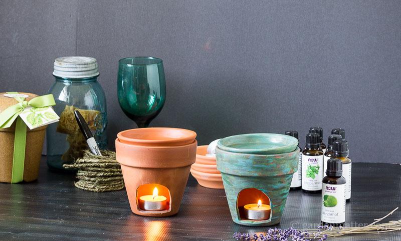 Terra Cotta Diffusers ~ DIY Essential Oil Diffuser ~ gardenmatter.com