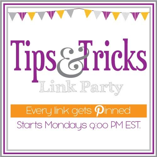 Tips & Tricks Linky #49