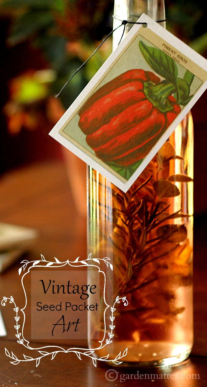 Enjoy making many paper crafts with vintage seed packet prints. Several free printables available for your crafting pleasure.