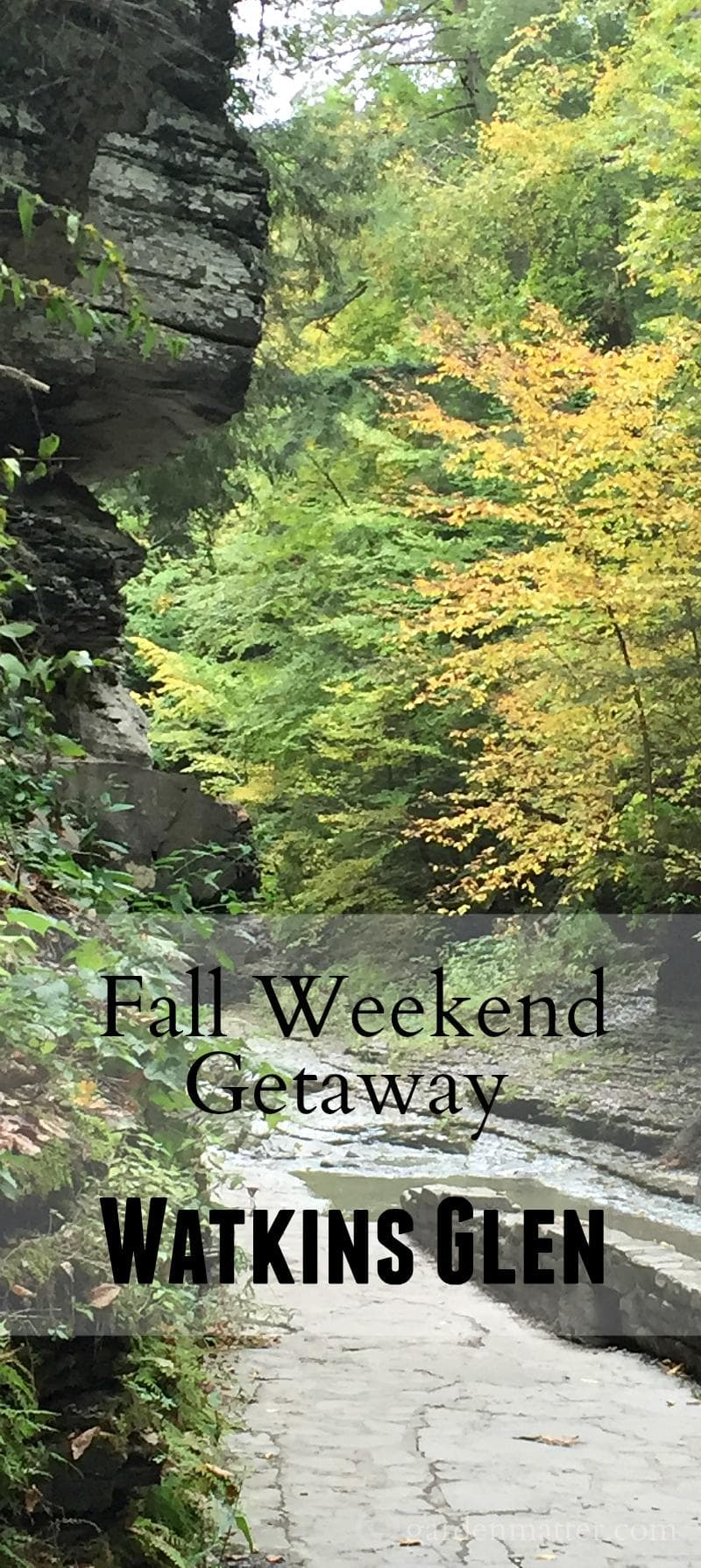 A visit to Watkins Glen, NY for a fabulous fall weekend getaway.