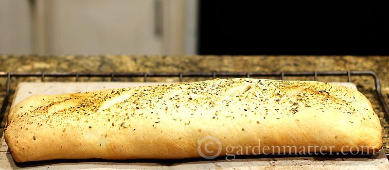 baked - hearty stromboli - gardenmatter.com