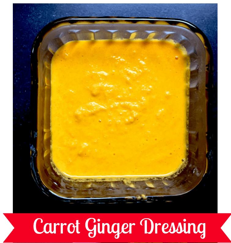 Carrot Ginger Dressing ~ mylifecookbook.com