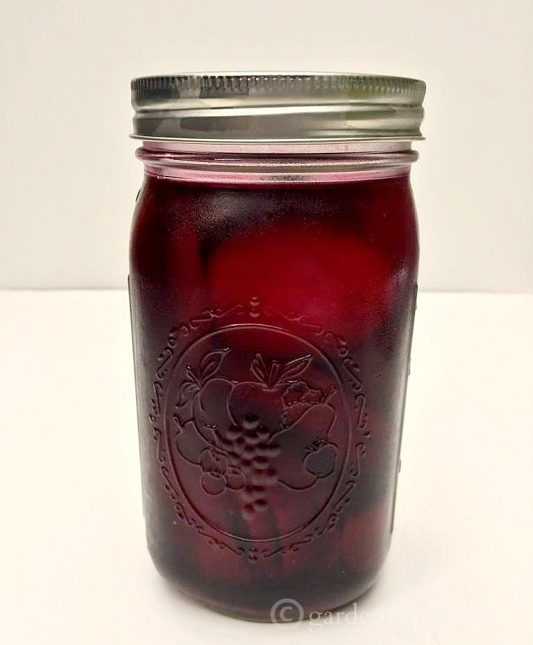 Mason Jar ~ pickled beets & eggs