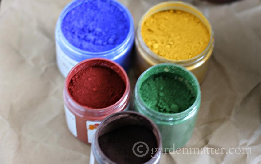 pigment powder ~ gardenmatter.com