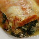 Vegetable Lasagna slice ~gardenmatter.com